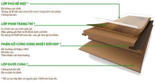 cấu tạo của sàn gỗ