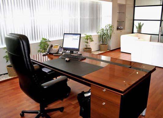 bố trí nội thất phù hợp với văn phòng làm việc